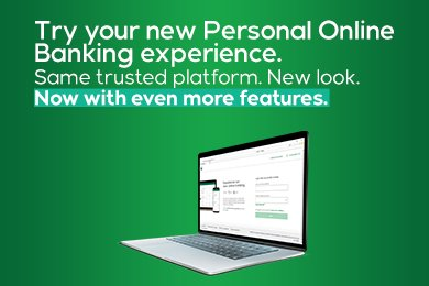 Try it now new Oline Banking
